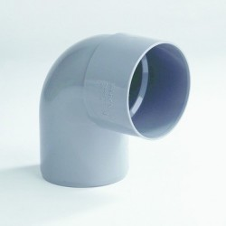 PVC Bocht 125 mm mof/spie 90° LV