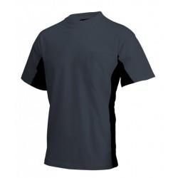 Tricorp T-shirt Bi-Color Borstzak d.grijs-zwart (TT2000) Maat: S