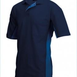 Tricorp Poloshirt Bi-Color Borstzak navy-royalbl. (TP2000) Maat: L