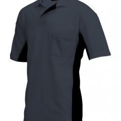 Tricorp Poloshirt Bi-Color Borstzak d.grijs-zwart (TP2000) Maat: L