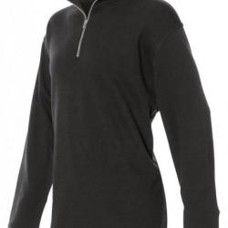 Tricorp sweater met ritskraag zwart 301010 / ZS280
