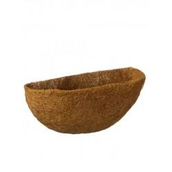 Nature kokosinlegvel voor hanging basket 35 cm. halfrond