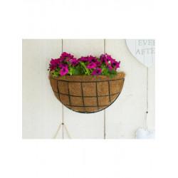 Nature hanging basket groen 35 cm. halfrond