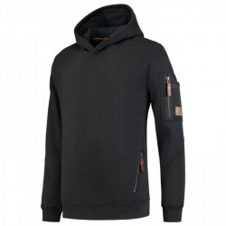 Tricorp sweater premium met capuchon zwart (304001) maat: L