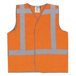 M-wear veiligheidsvest fl. oranje EN20471 RWS kl. 2 maat XL/XXL