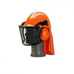 Peltor veiligheidshelm bosbouw combinatiepakket Oranje G3000