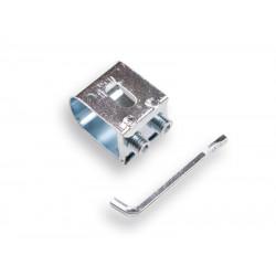 Zeisbeugel 40 x 35 mm. met sleutel