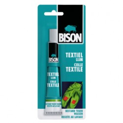 Bison textiellijm 50 ml.