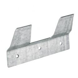 Ophangplaatje MM verzinkt voor kalveremmer afgeplat