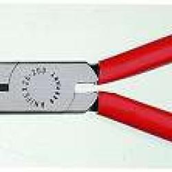 Knipex telefoontang / langbektang recht met zijsnijder 200 mm.