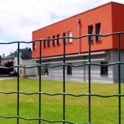 Gaas Plastirol Forte groen 50,0 x 50,0 x 1200 x 3,0 mm (per meter)