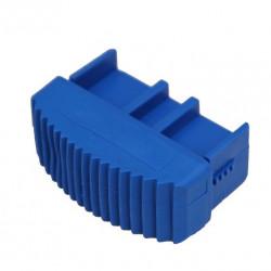 Solide Ladderdop 60 mm. blauw