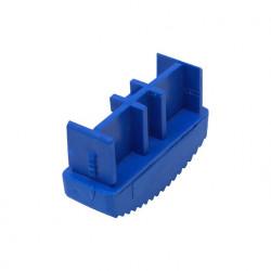 Solide Ladderdop 65 mm. blauw