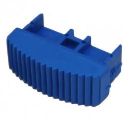 Solide Ladderdop 70 mm. blauw