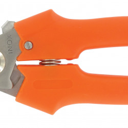 Metallo hobbyschaar allesknipper met lock 19 cm. oranje