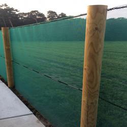 Windbreekgaas hoogte: 400 cm. kleur: groen (prijs per strekkende meter)