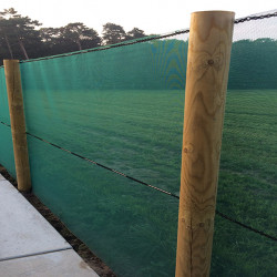 Windbreekgaas mono 50 400 cm. groen prijs per strekkende meter