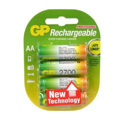 Oplaadbare batterijen HR6 (AA) GP 4 st. 2700 mAh 1,2Volt
