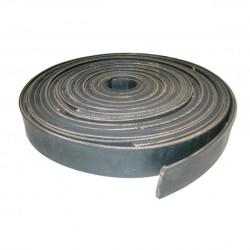 Boomband (zwart) met canvas (5 cm.)