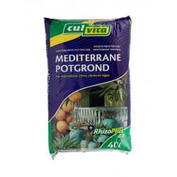 Culvita mediterrane potgrond (40 liter)