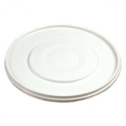Deksel voor emmer kunststof wit MM 5 liter