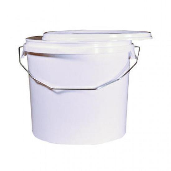 Emmer kunststof wit MM 5 liter (zonder deksel)