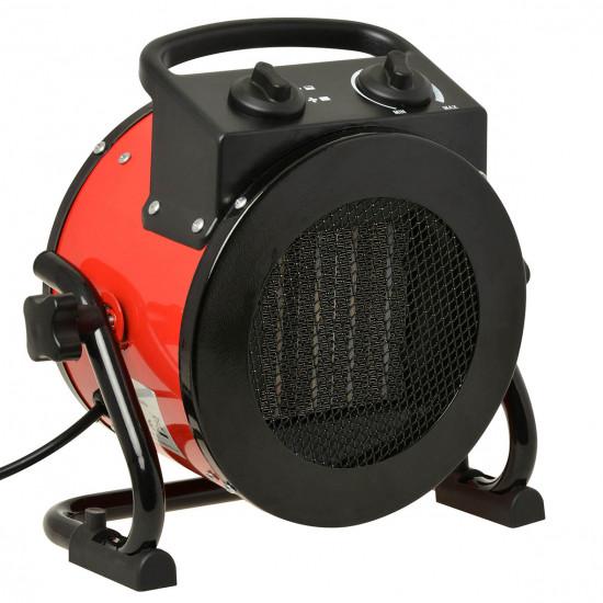 Blaze keramische kachel 2000W rood/zwart
