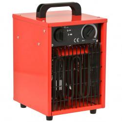 Industriële kachel 3000W rood/zwart