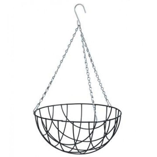 Nature hanging basket groen 25 cm. 6070100