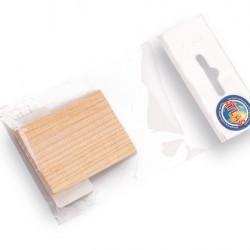 Houten wig klein 45x60 mm. (651515)