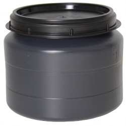 Voerton met schroefdeksel 32 liter