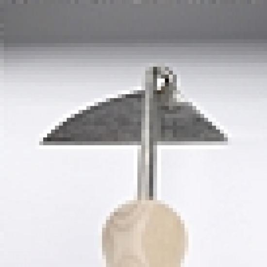 Sneeboer schrepel 14 cm. (RVS) met essen heft (9003)