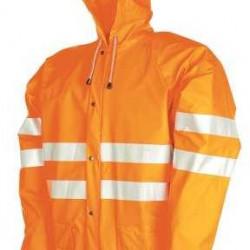 Sioen regenjas Unzen 3720 (fluor-oranje) maat XXL