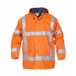 Hydrowear regenjack Uitdam fluor/oranje RWS mt: XXXXL (SNS)