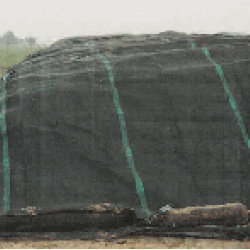 Beschermzeil groen 220 gr. (10x12 mtr.)