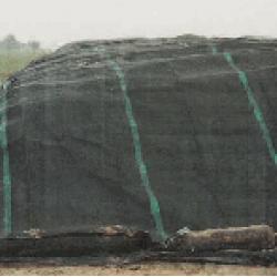 Beschermzeil groen 220 gr. (8x10 mtr.)