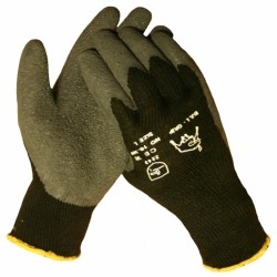 Werkhandschoenen Bull-flex Thermo (zwart) 10309 mt: XL
