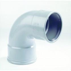 PVC Bocht 200 mm mof/mof 90° 2xMV